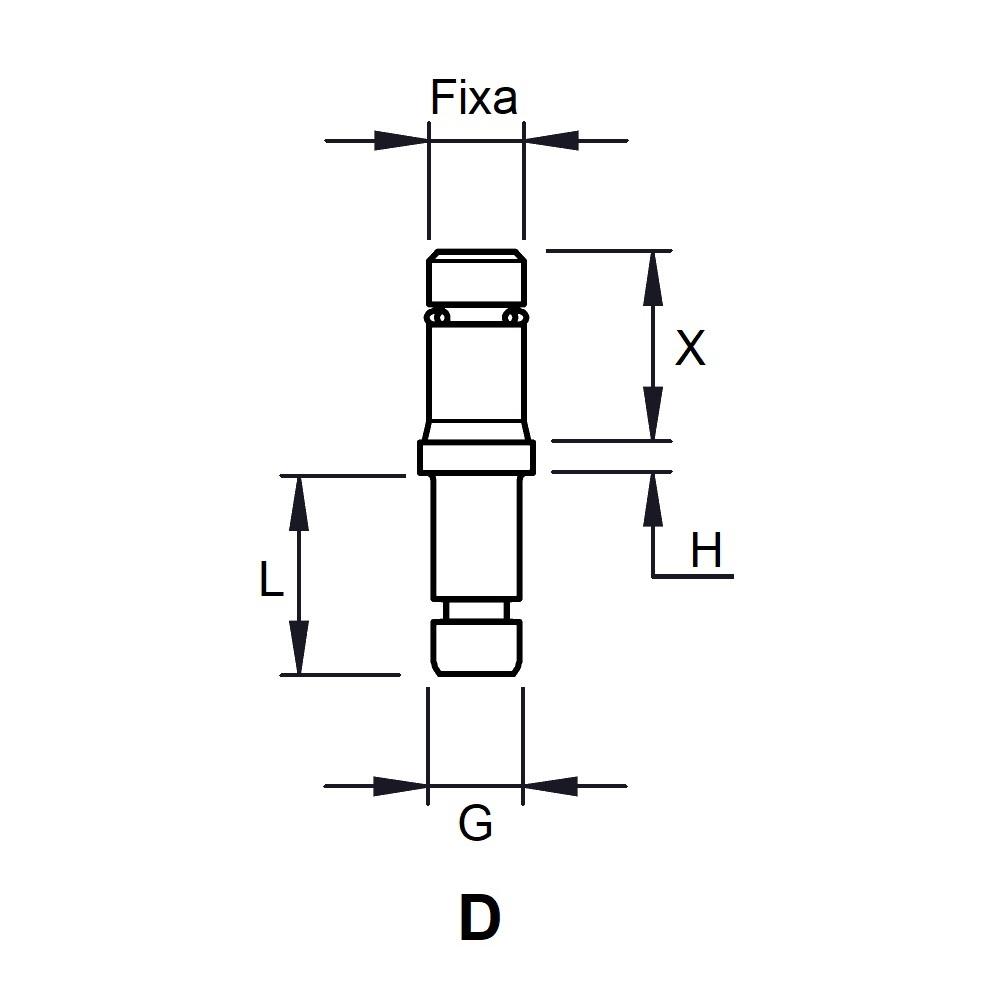 G1023 - FIXATION PIVOTANTE - ROULETTES & PATINS