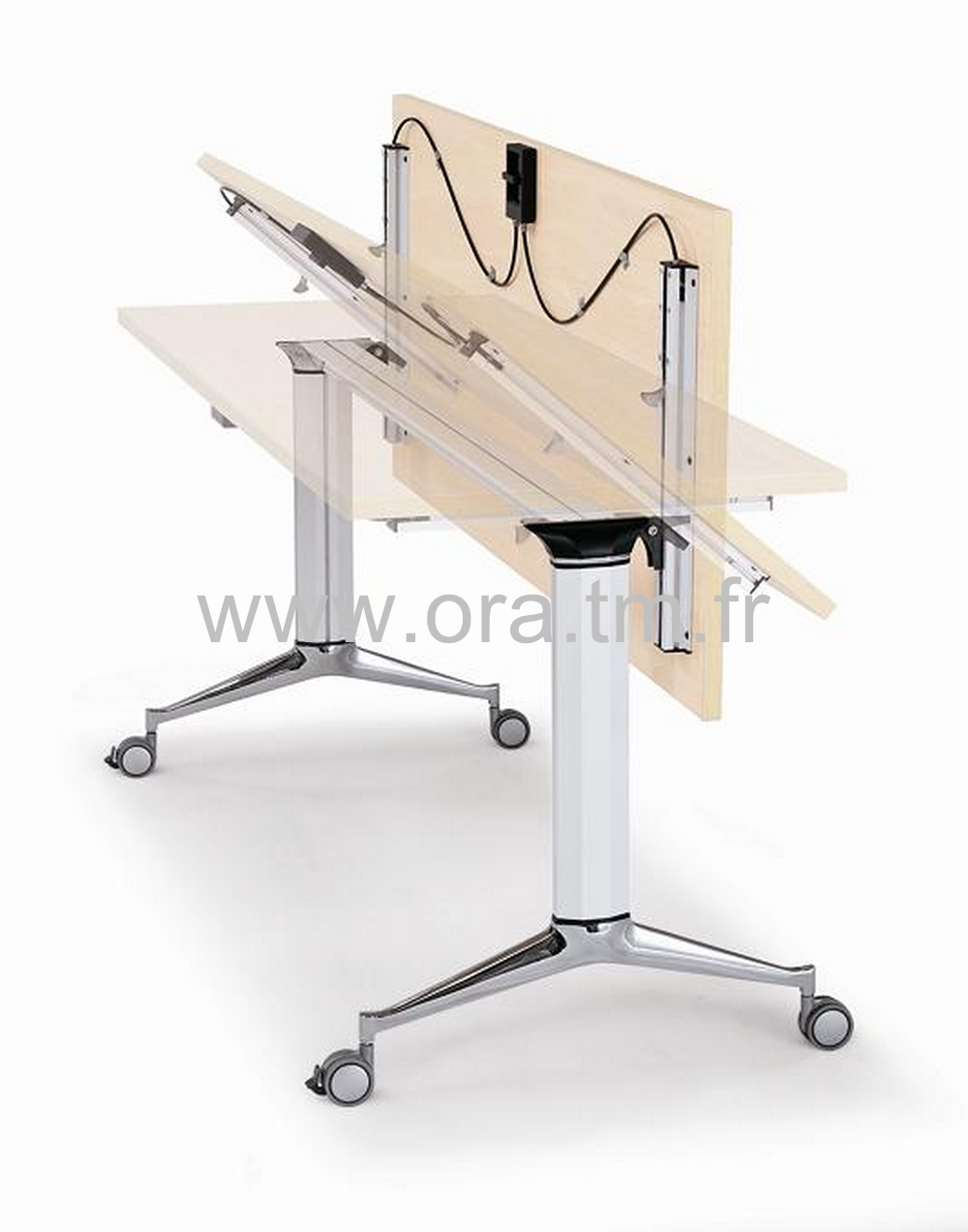 EXTRO - SYSTEME TABLE BASCULANT - PIETEMENT ALUMINIUM