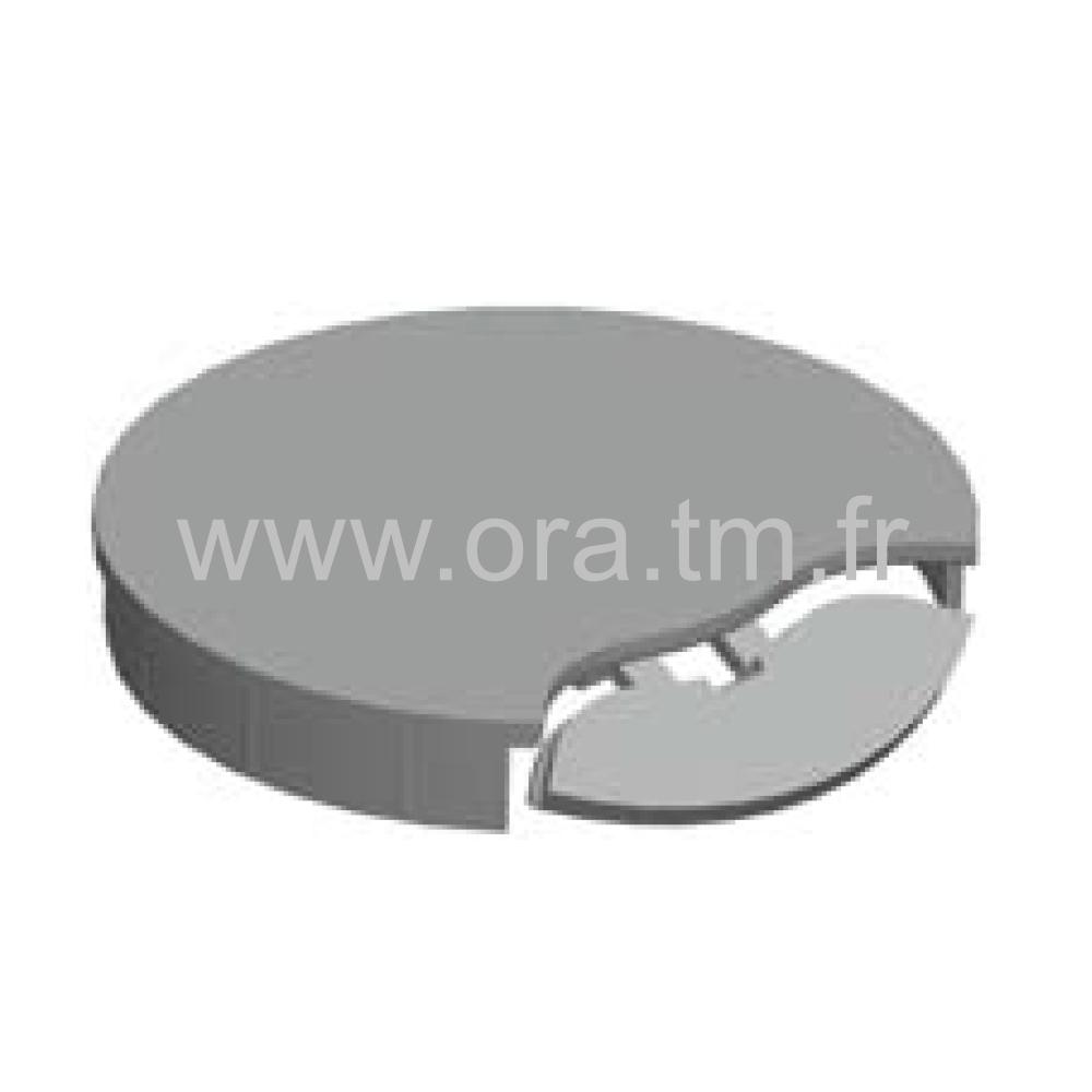 PKU - BOITIER PASSE CABLE - FACADE AMOVIBLE