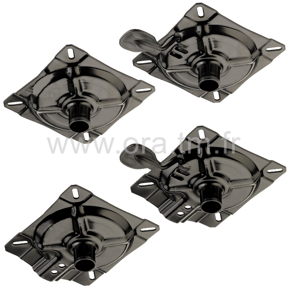 PLA - PLATINE ASSISE - CARRE CONE DIRECT