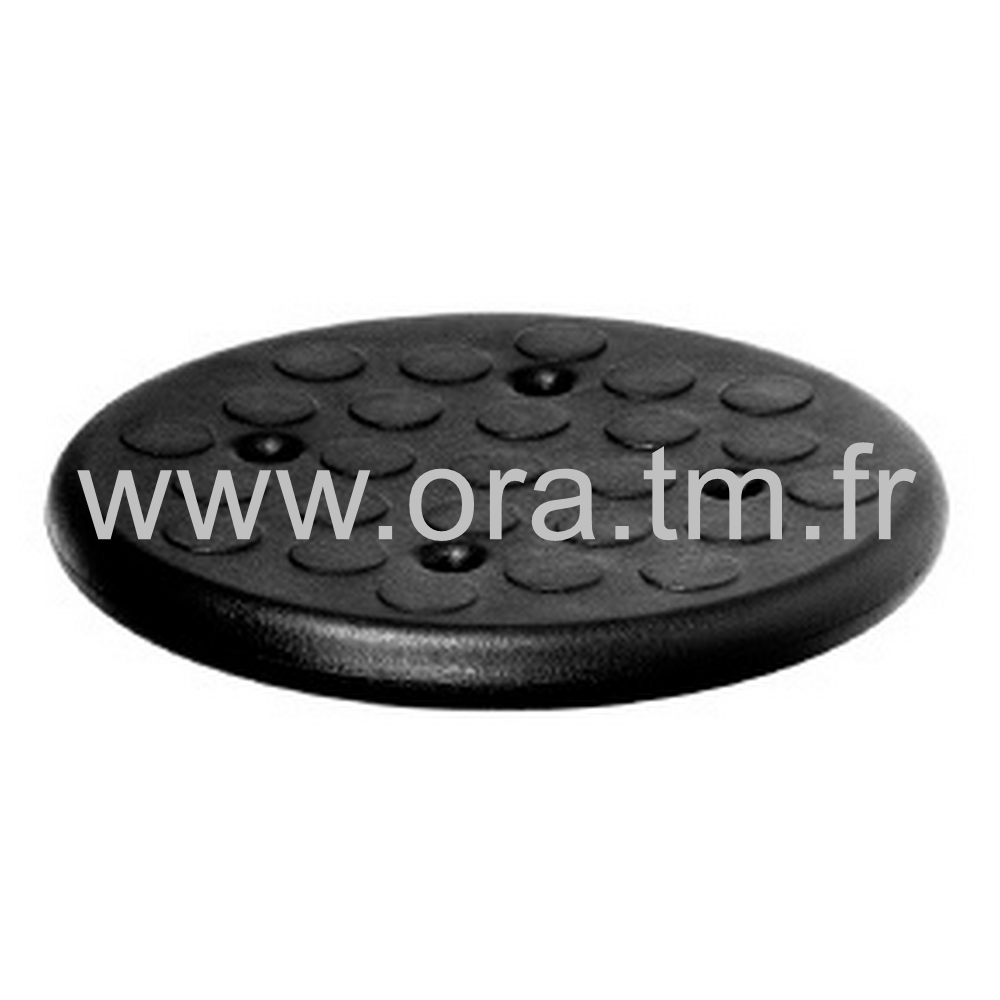 ROUND - POLYURETHANE - ASSISE RONDE PERFOREE