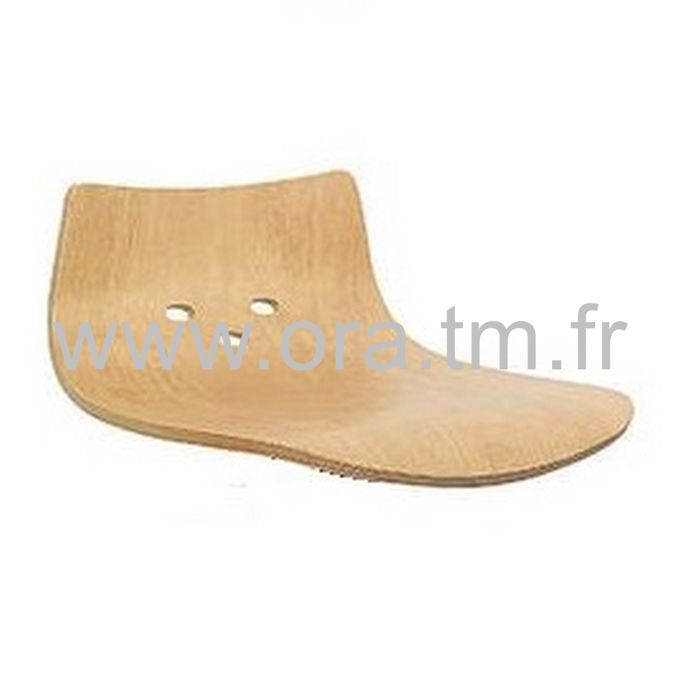SPOON - ASSISE DOSSIER BOIS - BOIS VERNIS NATUREL