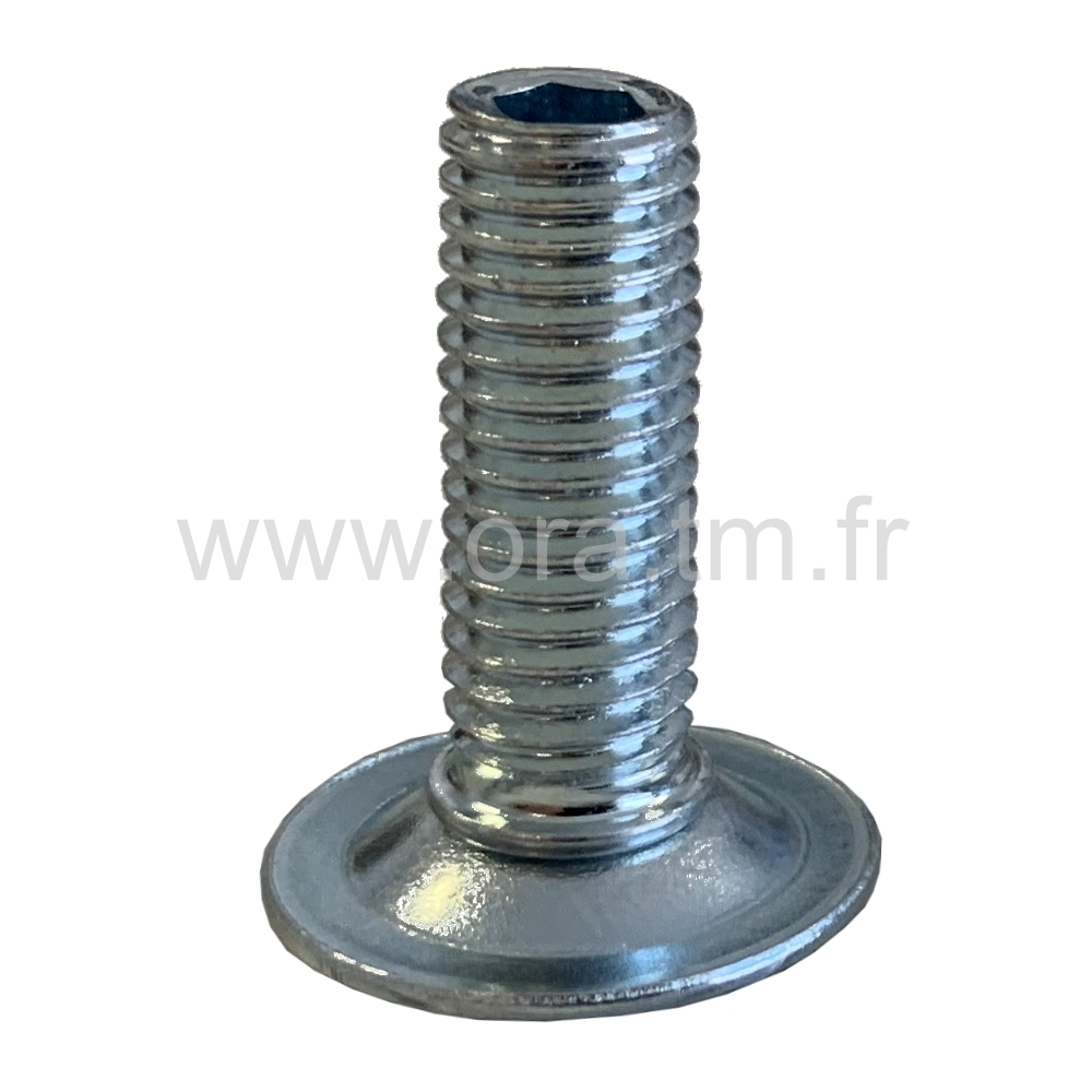 VMD - VERIN GYROSCOPIQUE - BASE CYLINDRIQUE METAL