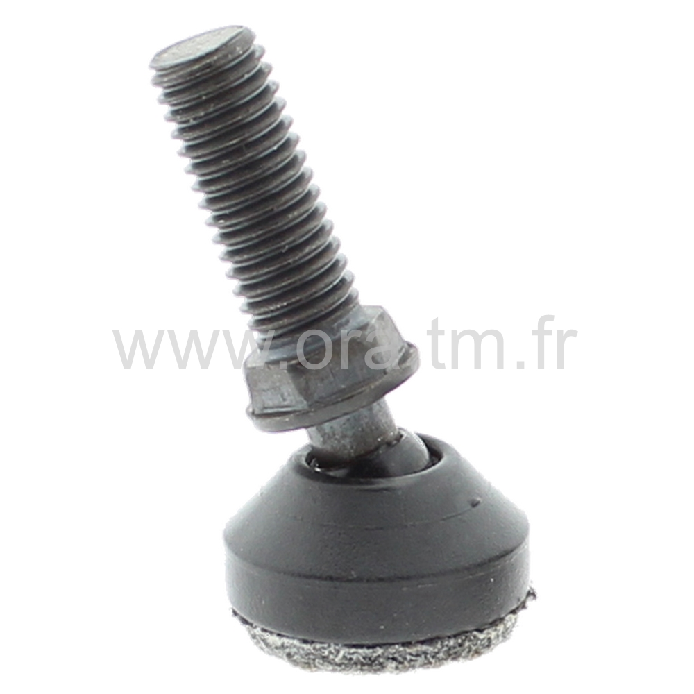 VRDFE - VERIN ORIENTABLE FEUTRE - BASE CONIQUE