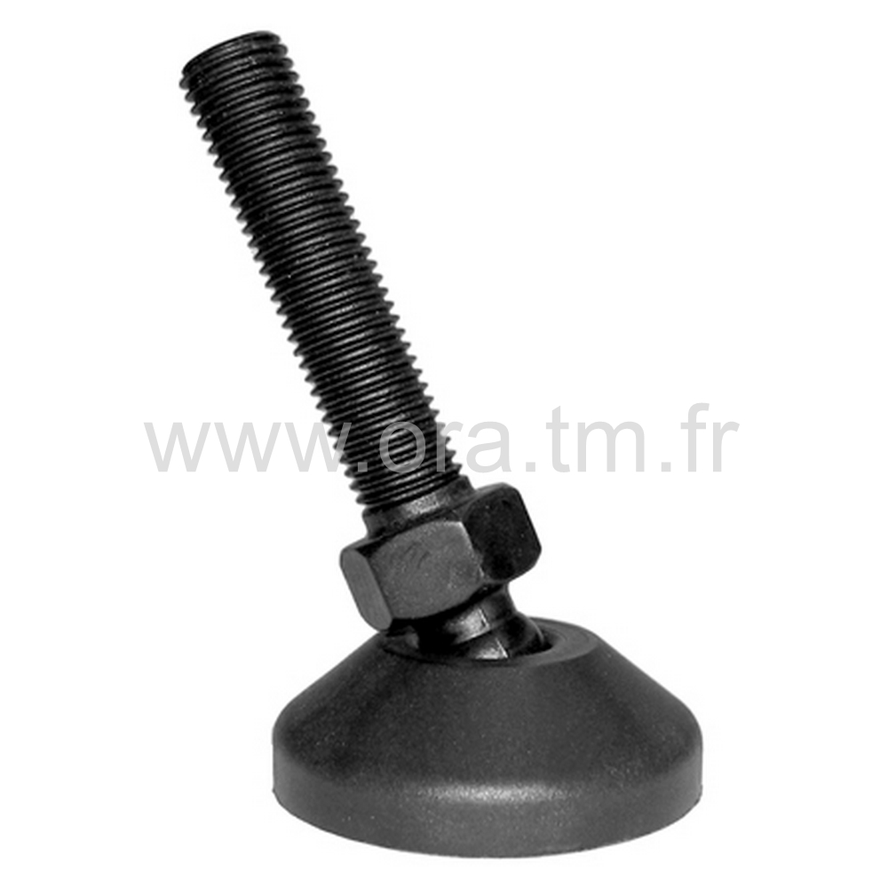 VSR - VERIN ORIENTABLE - BASE CYLINDRIQUE
