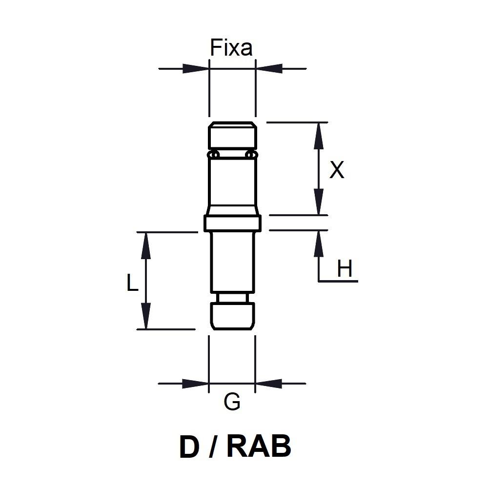G830 - FIXATION PIVOTANTE - ROULETTES & PATINS