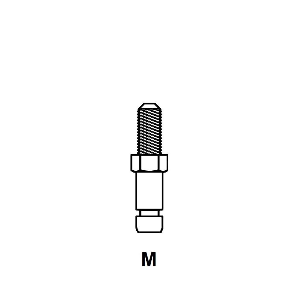 ROBS - ROULETTE MONO GALET - ROULEMENT LIBRE