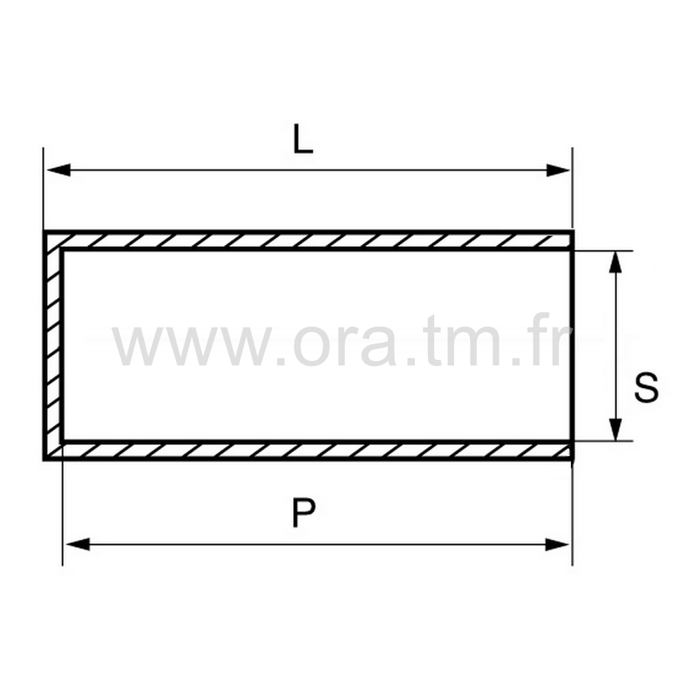 BROA - EMBOUT ENVELOPPANT - SECTION CYLINDRIQUE