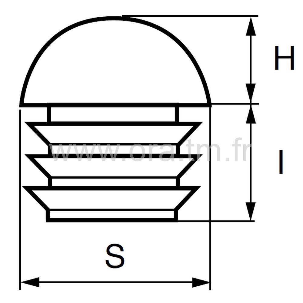 CTMH - COUVRE TUBE ENJOLIVEUR - SECTION CYLINDRIQUE