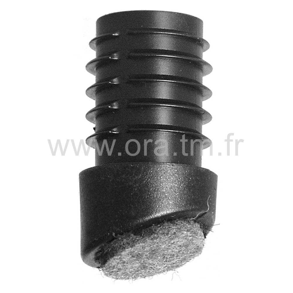 EAJFE - EMBOUT A AILETTES - SECTION CYLINDRIQUE