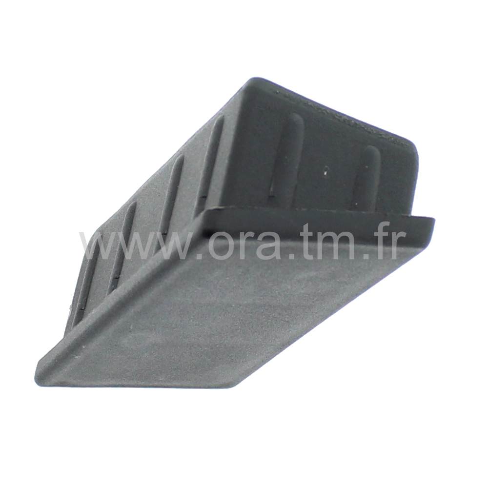 EBGR - EMBOUT INCLINE A INSERER - SECTION RECTANGULAIRE