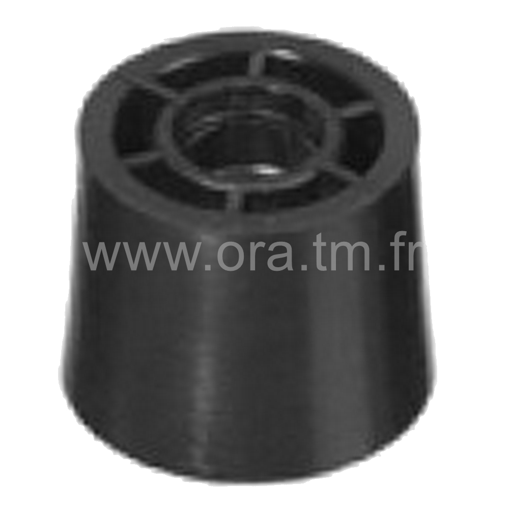 EFI - EMBOUT D'ATTACHE - SECTION TUBE CYLINDRIQUE