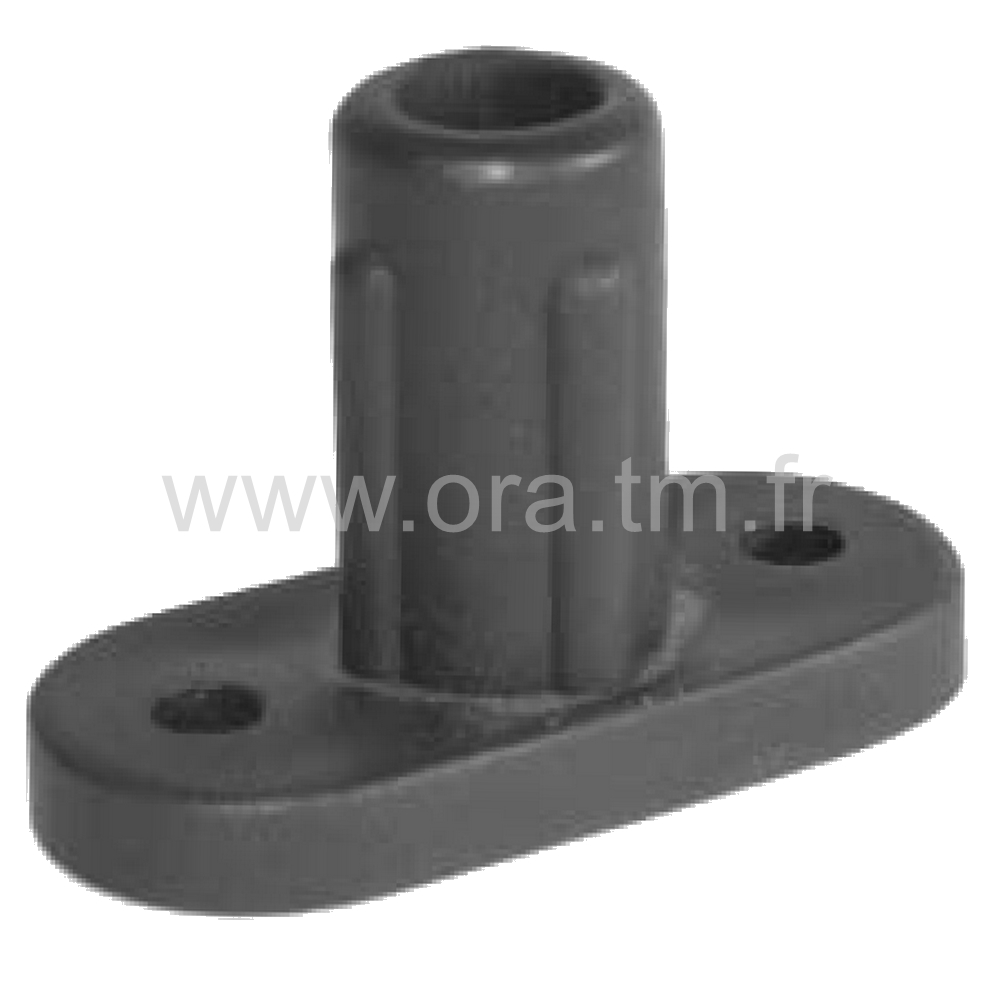 EFT - EMBOUT D ATTACHE - SECTION TUBE CYLINDRIQUE