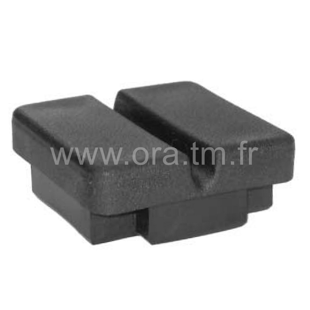 EPC - EMBOUT PASSE CABLE - SECTION CARREE