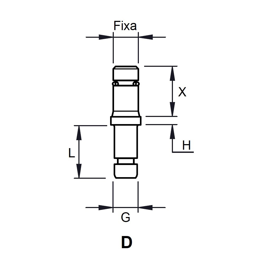 IDR - INSERTION PORTE ROULETTE - TUBE RECTANGLE