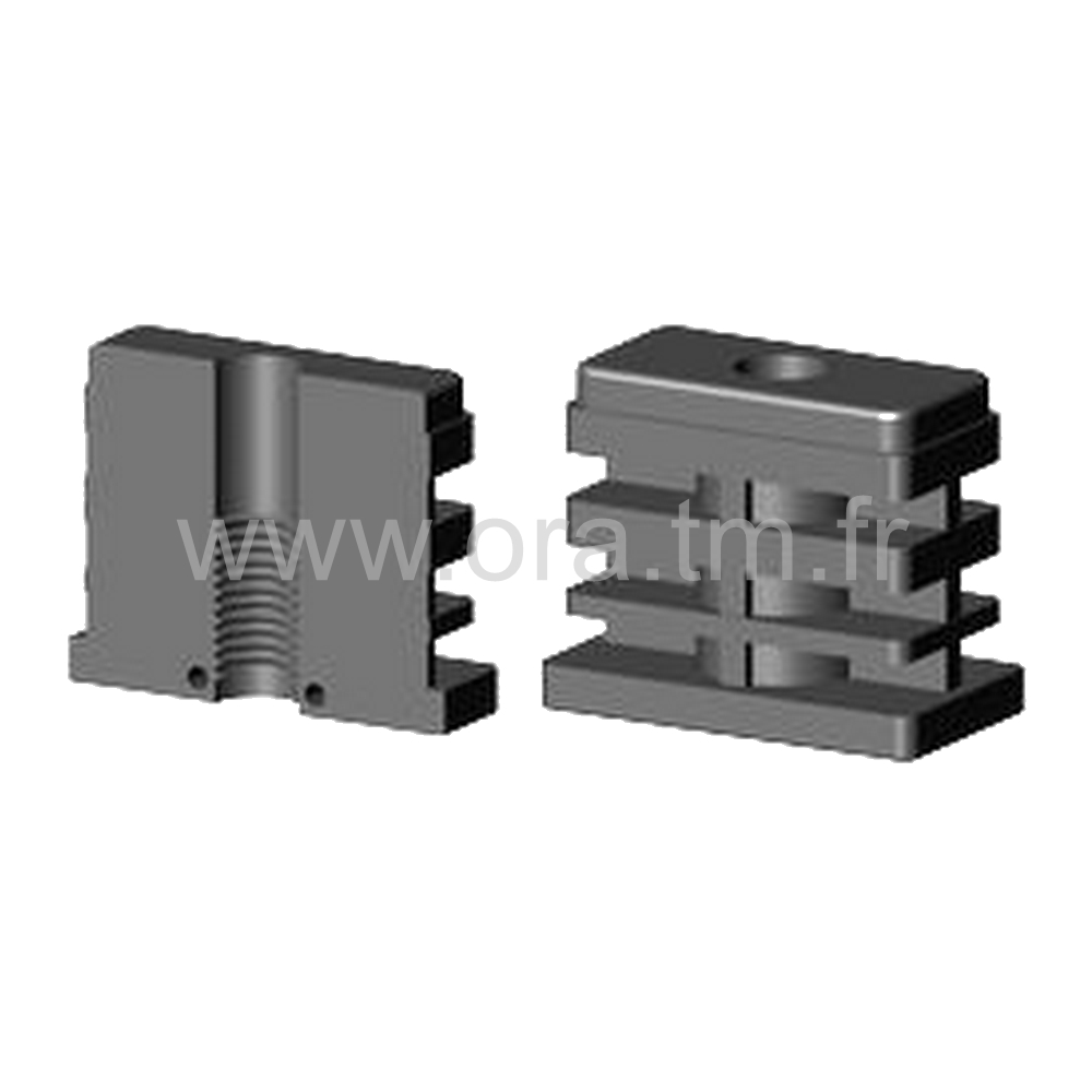 IOR - INSERTION FILETEE - SECTION RECTANGULAIRE